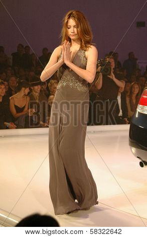 Haley Bennett inside at the 2006 GM TEN Fashion Show. Paramount Studios, Hollywood, CA. 02-20-07
