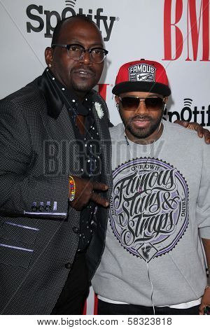 Randy Jackson, Jermaine Dupri at the 2012 BMI Urban Awards, Saban Theatre, Beverly Hills, CA 09-07-12