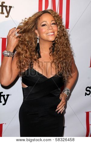 Mariah Carey at the 2012 BMI Urban Awards, Saban Theatre, Beverly Hills, CA 09-07-12