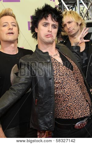 Billie Joe Armstrong at the 2012 Video Music Awards Arrivals, Staples Center, Los Angeles, CA 09-06-12