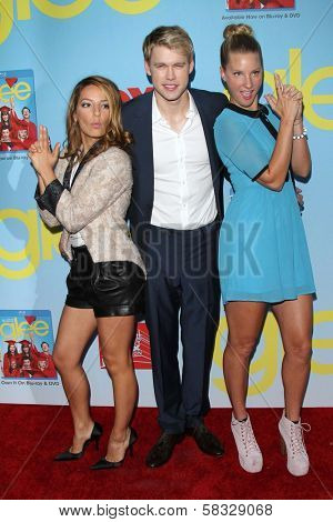 Vanessa Lengies, Chord Overstreet and Heather Morris at the