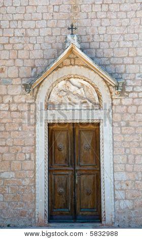 Door In A Church.