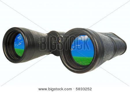 Black Binoculars