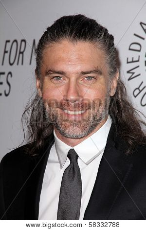 Anson Mount at the Paley Center Annual Los Angeles Benefit, The Lot, West Hollywood, CA 10-22-12