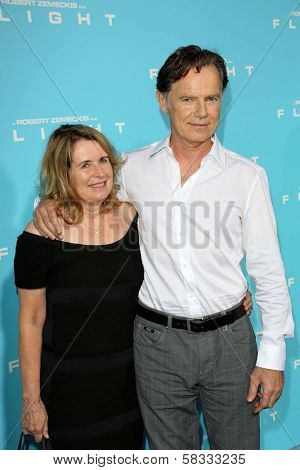 Bruce Greenwood, Susan Devlin at the