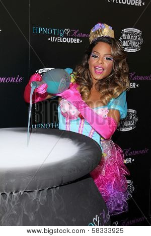 Christina Milian at the HPNOTIQ Liqueur Launch, Beacher's Madhouse, Hollywood, CA 10-26-12