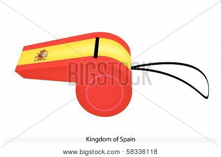 A Whistle Of The Kingdom Of Spain