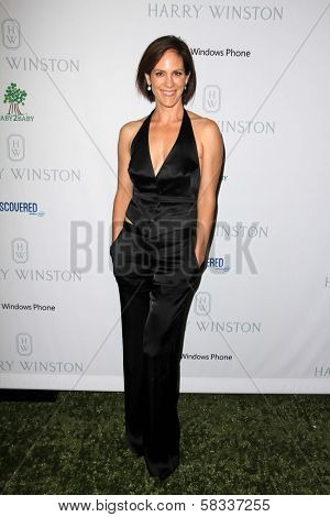 Annabeth Gish at the First Annual Baby2Baby Gala Presented by Harry Winston, Book Bindery, Culver City, CA 11-03-12