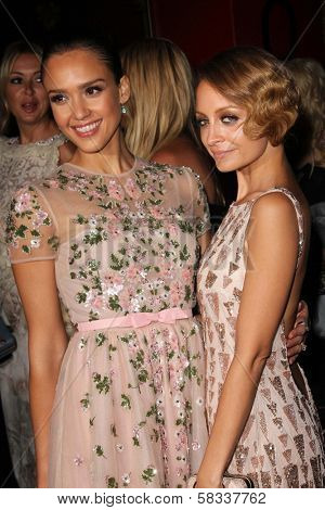 Jessica Alba, Nicole Richie at the First Annual Baby2Baby Gala Presented by Harry Winston, Book Bindery, Culver City, CA 11-03-12