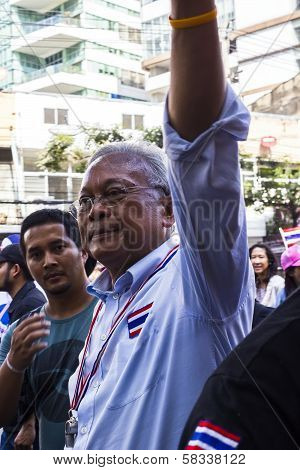 Pdrc Leader Suthep Thaugsuban Continue The Shutdown Bangkok Campaign And Asks For Reforms Before Ele