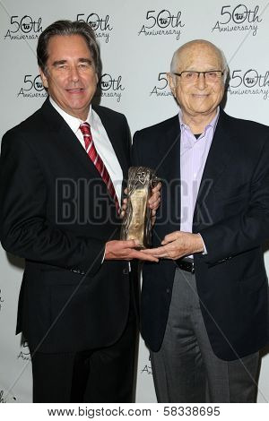 Beau Bridges, Norman Lear at Theater West's 50th Anniversary Gala, Taglyan Cultural Center, Hollywood, CA 09-13-12