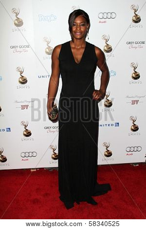Sufe Bradshaw at the 64th Primetime Emmy Award Performer Nominee Reception, Spectra by Wolfgang Puck, West Hollywood, CA 09-21-12