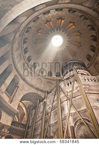 Church of the Holy Sepulchre in Jerusalem, Rotunda