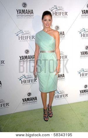 Eva Amurri Martino at Heifer International's