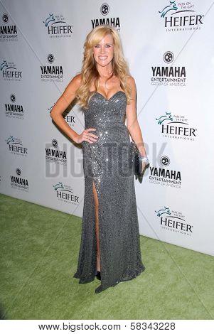 Paige Hemmis at Heifer International's