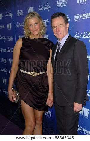 Anna Gunn, Bryan Cranston at the Variety and Women In Film Pre-Emmy Event, Scarpetta, Beverly Hills, CA 09-21-12