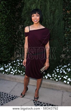Tamara Taylor at the Rape Treatment Center Fundraiser hosted by Viola Davis and honoring Norman Lear, Greenacres, Neberly Hills, CA 10-14-12