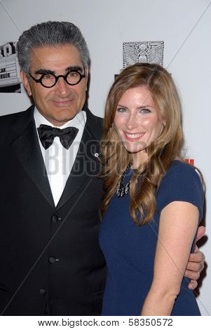 Eugene Levy and daughter at the 26th American Cinematheque Award Honoring Ben Stiller, Beverly Hilton Hotel, Beverly Hills, CA 11-15-12