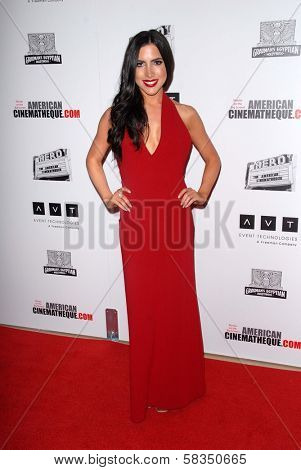 Caren Brooks at the 26th American Cinematheque Award Honoring Ben Stiller, Beverly Hilton Hotel, Beverly Hills, CA 11-15-12
