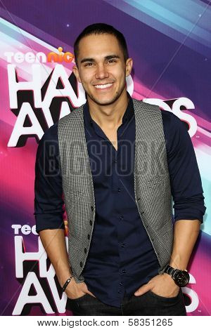Carlos Pena Jr. at the 2012 TeenNick HALO Awards, Hollywood Palladium, Hollywood, CA 11-17-12