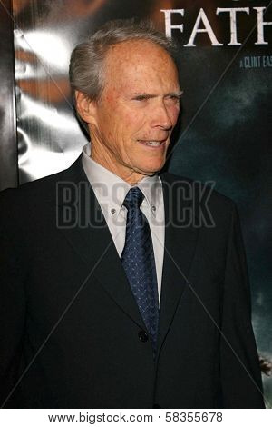 Clint Eastwood at the premiere of