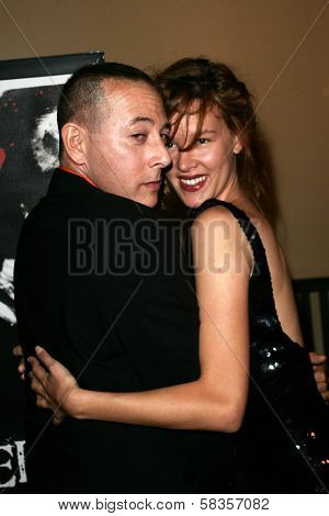 Paul Reubens and Paz de la Huerta at the World Premiere of