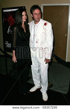 Courteney Cox and David Arquette at the World Premiere of