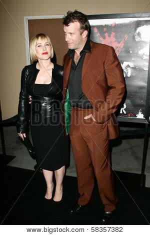 Patricia Arquette and Thomas Jane at the World Premiere of