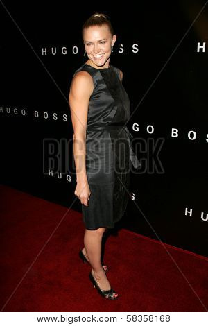 Dominique Swain at Hugo Boss's