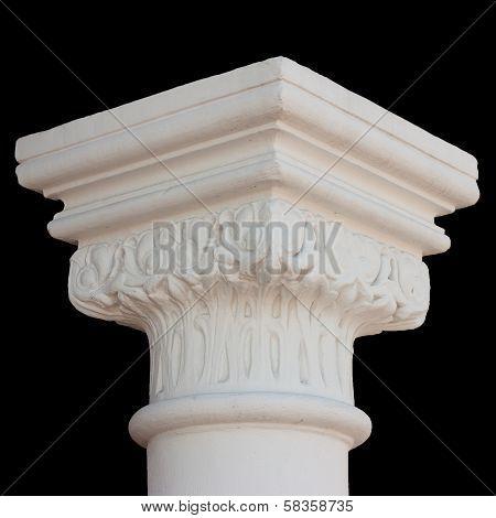 Column capital isolated