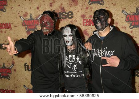 Slipknot at the Fuse Fangoria Chainsaw Awards. Orpheum Theatre, Los Angeles, CA. 10-15-06