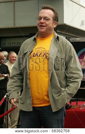Tom Arnold at the Ceremony Honoring Los Angeles Lakers Owner Jerry Buss with the 2,323rd star on the Hollywood Walk of Fame. Hollywood Boulevard, Hollywood, CA. 10-30-06