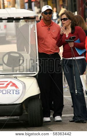 Tiger Woods at the EA Sports