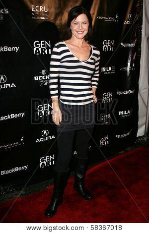 Josie Davis at the Gen Art 9th Annual Fresh Faces in Fashion event, Barker Hanger, Santa Monica, CA 10-13-06
