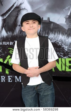 Atticus Shaffer at the