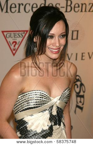 Hilary Duff at the 17th Carousel of Hope Ball to benefit The Barbara Davis Center for Childhood Diabetes. Beverly Hilton Hotel, Beverly Hills, CA. 10-28-06