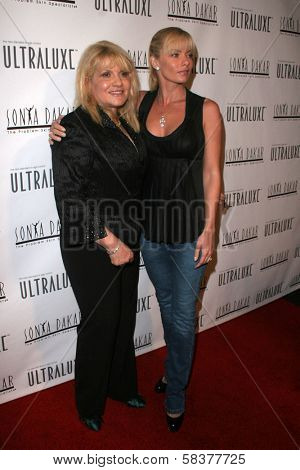 Sonya Dakar and Jaime Pressly at the Sonya Dakar Skin Clinic Opening. Sonya Dakar SKin Clinic, Beverly Hills, CA. 10-24-06