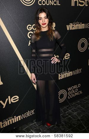 Gia Mantegna at the Hollywood Foreign Press Association And InStyle Miss Golden Globe 2013 Party, Cecconi's, Los Angeles, CA 11-29-12