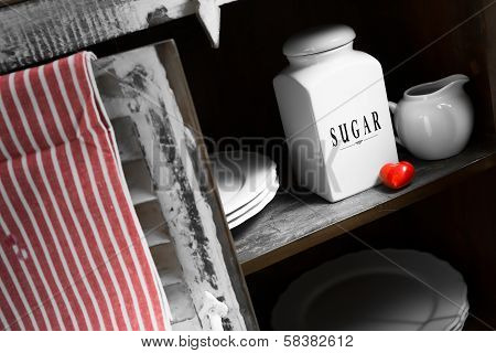 A Rustic Sugar Containers