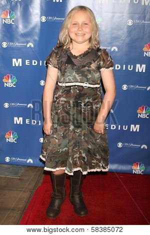 Maria Lark at the NBC fall party for the hit drama