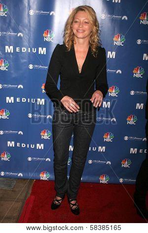 Amanda Detmer at the NBC fall party for the hit drama
