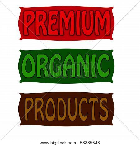 Premium organic and products