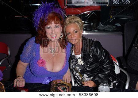 Annie Sprinkle, Rhonda Jo Petty at the