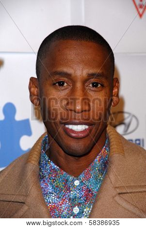 Raphael Saadiq at the Blue Tie Blue Jean Ball, presented by Austism Speaks, Beverly Hilton, Beverly Hills, CA 11-29-12
