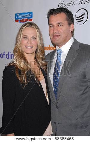Molly Sims, Scott Stuber at the 2012 March Of Dimes Celebration Of Babies, Beverly Hills Hotel, Beverly Hills, CA 12-07-12
