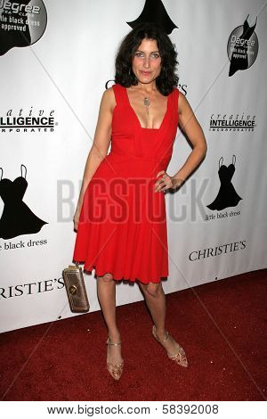 BEL AIR, CA - NOVEMBER 18: Lisa Edelstein at the 5th Annual