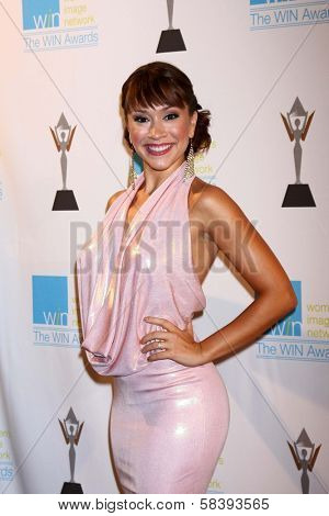 Diana DeGarmo at The 14th Annual Women's Image Network WIN Awards, Paramount Studios, Hollywood, CA 12-12-12