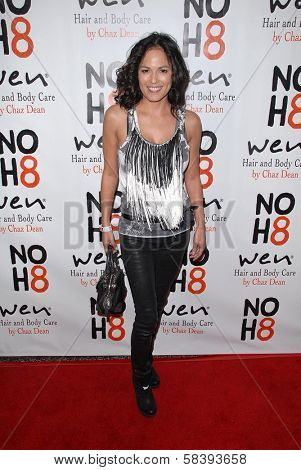 Terri Ivens at the NOH8 Campaign 4th Anniversary Celebration, Avalon, Hollywood, 12-12-12