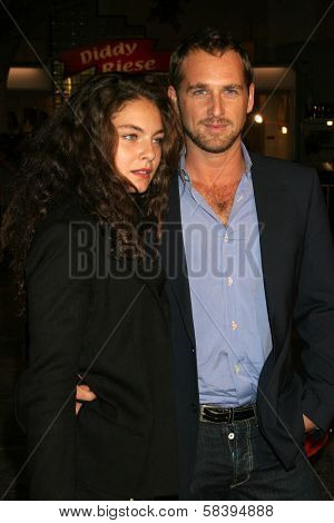 WESTWOOD, CA - NOVEMBER 05: Josh Lucas and friend at a Special Presentation of