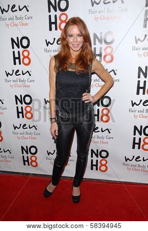 Challen Cates at the NOH8 Campaign 4th Anniversary Celebration, Avalon, Hollywood, 12-12-12